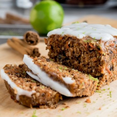 Vegan & Gluten-free Carrot Loaf