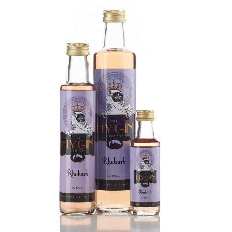 Ely Gin with Rhubarb