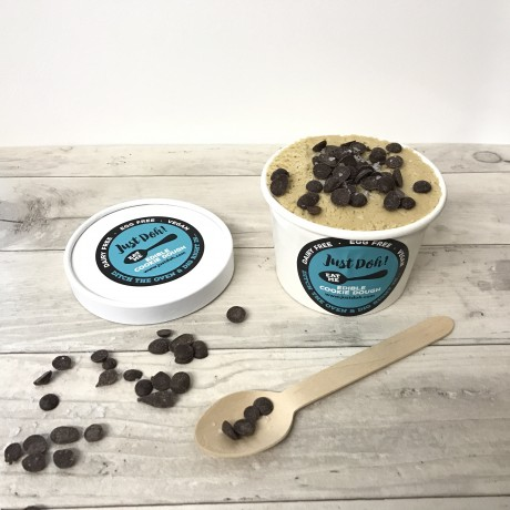 Vegan Edible Cookie Dough - Salted Caramel & Choc Chip