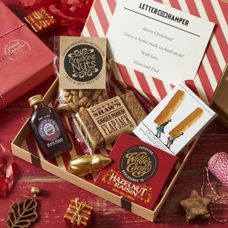 Luxury Christmas Letter Box Hamper