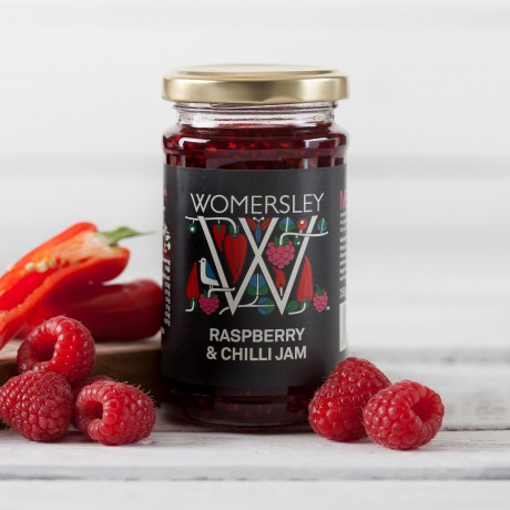 Womersley Raspberry & Chilli Jam