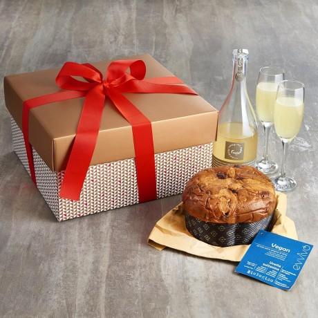 Organic Prosecco & Vegan Panettone Gift Box