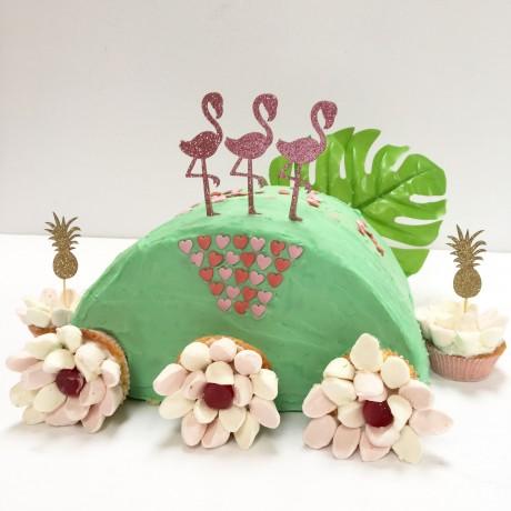 Flamingo Cake Kit