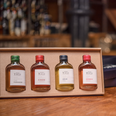 Scottish Whisky-Based Bottled Cocktails Gift Box