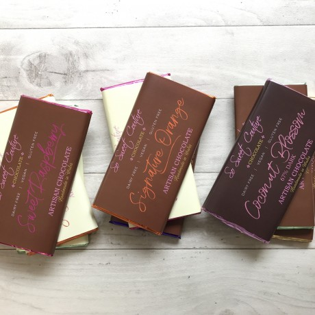 Artisan Dairy Free Chocolate Bar Collection (10 bars)