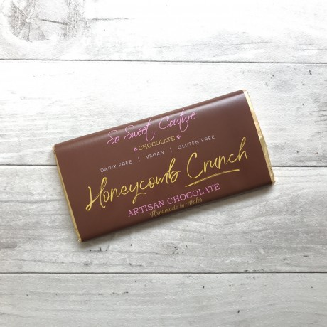 Dairy Free Alternative to Milk Chocolate Bars with Honeycomb (3 pack)