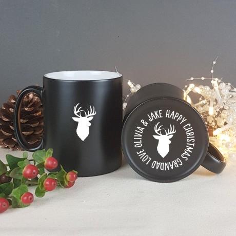 Stag Christmas Mug