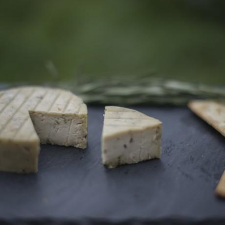 Rosemary Cashew Nut Vegan Cheese
