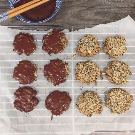 Super Seed Paleo Cookie Mix - Flaxseeds, Chia, Black Sesame & Sunflower Seeds