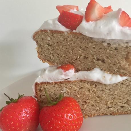 Classic Vanilla Cake - 3 ways Paleo Cake Mix