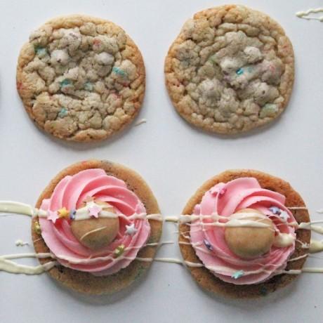 Cookie Sandwich Baking