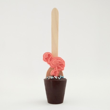 3 Flamingo Cocoa Cuppas (Choice of Chocolate)