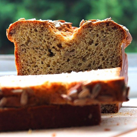 Gluten-free sunflower bread