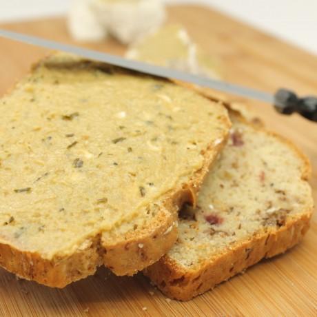 Gluten-free cranberries-walnut bread