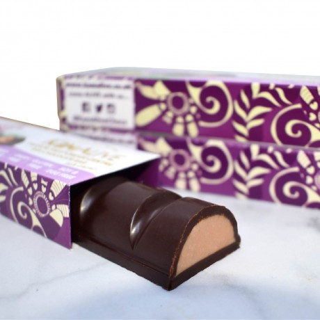 Raw Chocolate Bars with Passion Fruit Cream Centres (3 bars)