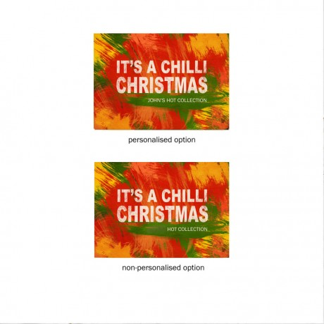 Christmas Message Chilli Palette