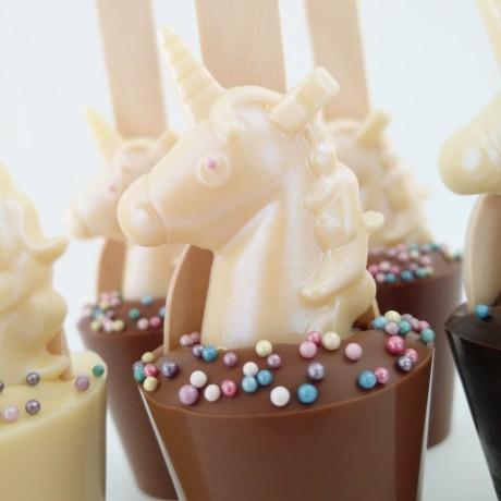 3 Unicorn Cocoa Cuppas