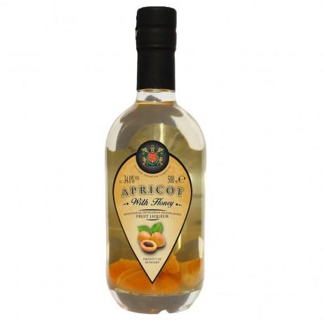 Apricot Palinka Liqueur with Honey