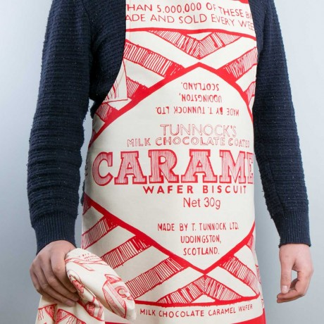 Cooks Apron in iconic Tunnocks wafer design