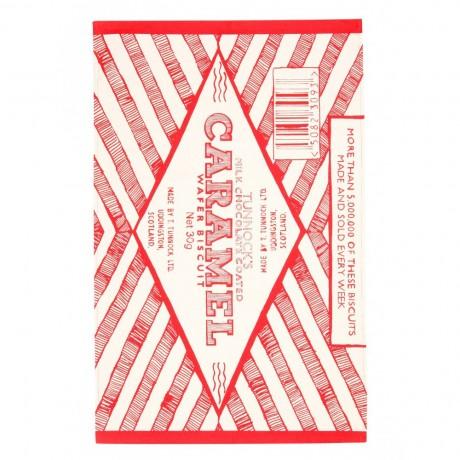 Caramel Wafer Iconic design Tea Towel