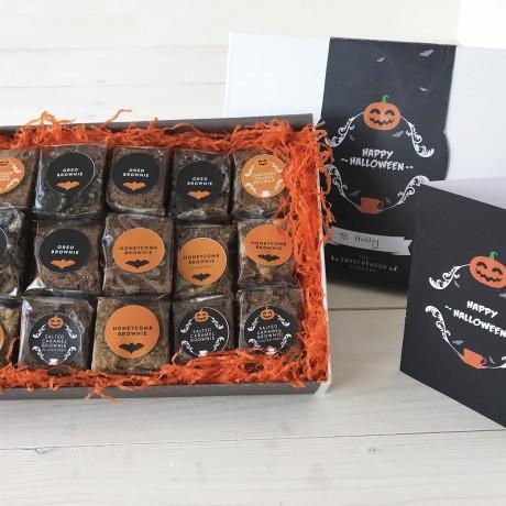 Indulgent Halloween Brownie Gift Box