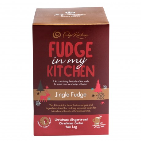 Jingle Fudge box side