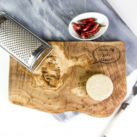 Personalised Speech Bubble Cheese Board