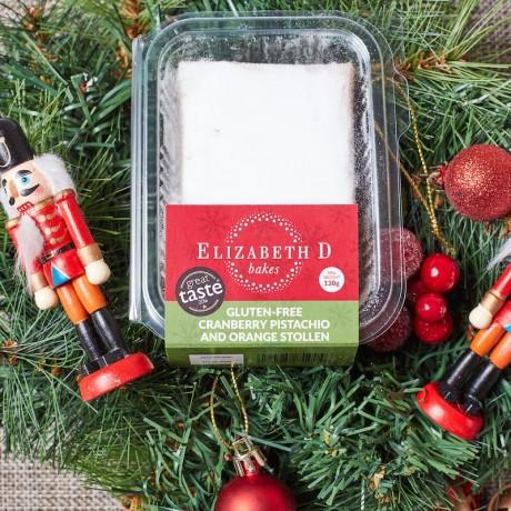 Gluten-Free Cranberry Pistachio and Orange Stollen