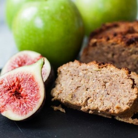 Paleo Fig And Apple Bread