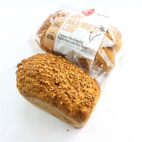 Buckwheat Loaves of Bread (Gluten free, Vegan, Soya free)