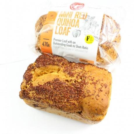 Red Quinoa Loaves of Bread (Gluten free, Vegan, Soya free)