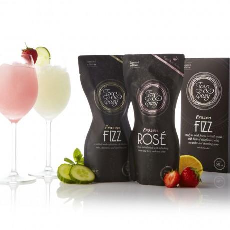 Frozen Fizz & Rosé Cocktail Pouches Box