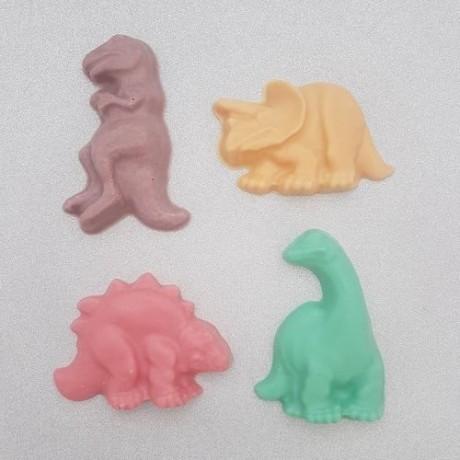 White Chocolate Dinosaurs