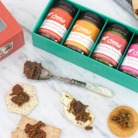 Spicy pickles gift set