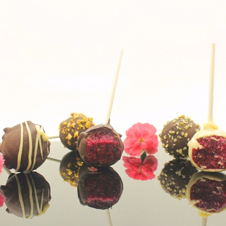 Organic Raw Red Velvet Cake Pops