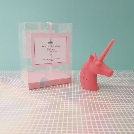 Pink Unicorn with Box