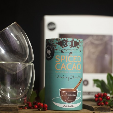 Spiced Cacao Glasses