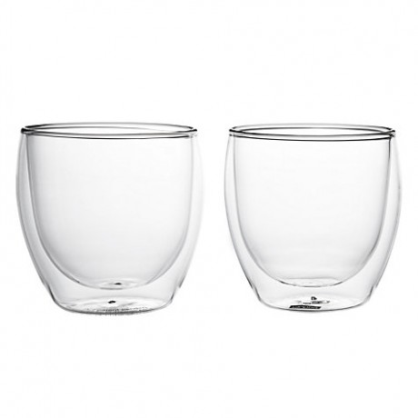 Luxury Sugar Free Spiced Drinking Chocolate & Hand-Blown Drinking Glasses Gift Set