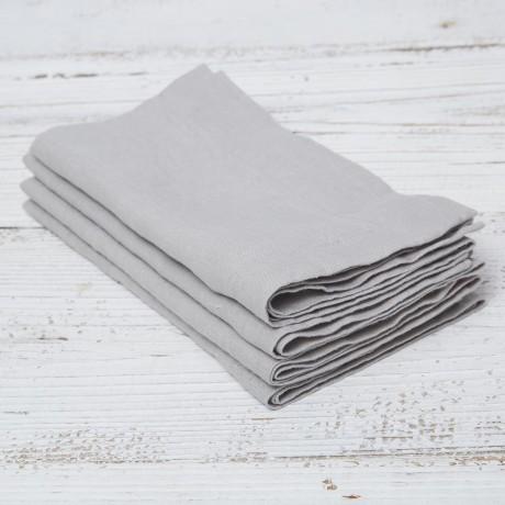 dove grey napkins