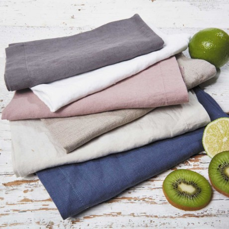 linen placemats six colours