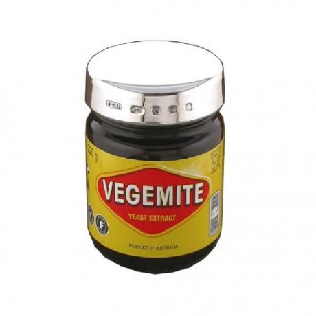 Personalised Solid Silver Vegemite Lid
