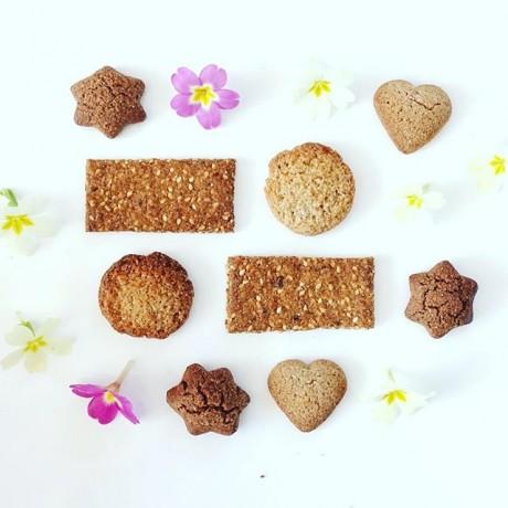 Gluten Free Organic Sesame & Fig Biscuit