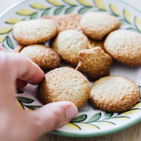 Gluten Free Organic Fennel Biscuit