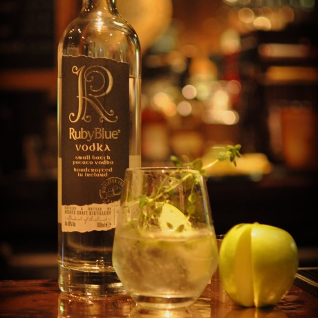 RubyBlue Award winning potato Vodka