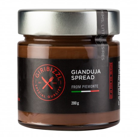 Gianduia Chocolate Spread from Piemonte