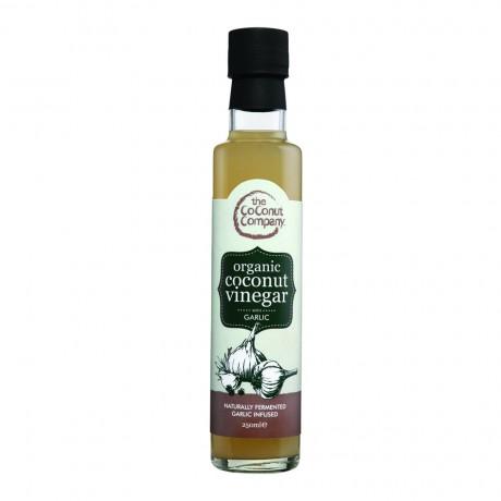 Organic Coconut Vinegar - Garlic
