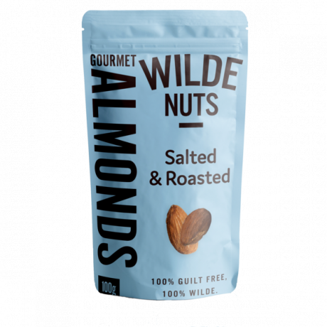Almonds Roasted and Salted Nuts