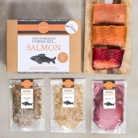 The Homemade Curing Kit... Salmon