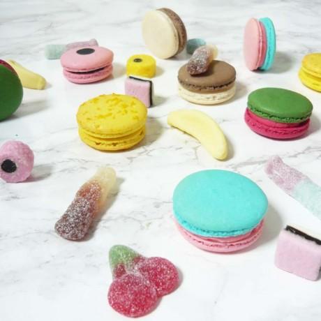 sweet range macarons