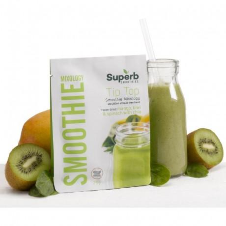 Tip Top Smoothie Mix Box (Mango, Kiwi & Spinach)